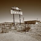 Route 66 - Road Runner Restaurant by Frank Romeo