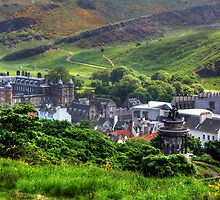 Holyrood from Calton Hill by Tom Gomez