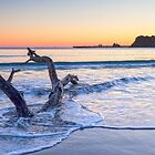 Dawn, Tolaga Bay, New Zealand by Linda and Colin McKie