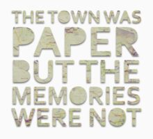 The Town Was Paper Alt by mattofthemany