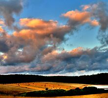 evening sky by mrobertson7