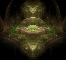 Emerald Realm by Craig Hitchens - Spiritual Digital Art