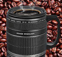 TELESCOPIC LENS COFFEE CUP IPAD CASE by ✿✿ Bonita ✿✿ ђєℓℓσ
