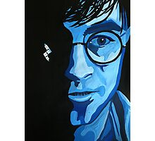 harry in blue Photographic Print