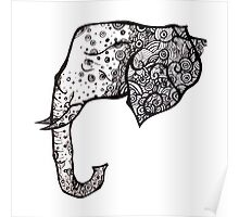 The Spotted elephant Poster