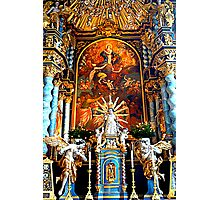 High Altar Pilgrimage Church Hohenpeissenberg Photographic Print