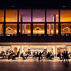 Just a typical evening at The Royal Festival Hall, London by Chilla Palinkas