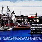 INNER HARBOUR-PORT ADELAIDE by JAMES LEVETT