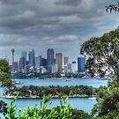 Sydney From Toronga Zoo by Eve Parry