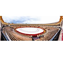 Arena Sevilla panorama, Spain Photographic Print