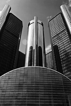 GM Renaissance Center by Susan Drysdale