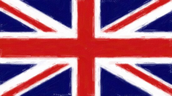 union jack flag art by nadil