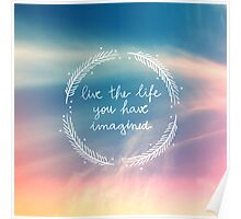 The Life You Have Imagined Poster