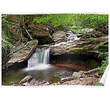 Unsung Glen Leigh Waterfall Poster