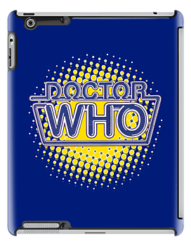 Doctor Who Classic Logo (Blue) by ixrid