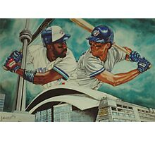 Carter and Alomar Photographic Print