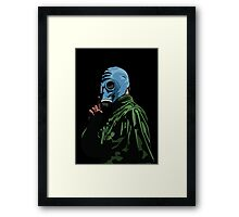 Dead Man's Shoes Comic Style Illustration Framed Print