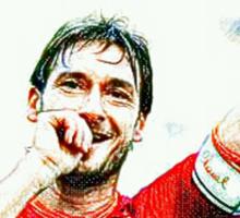 """Francesco Totti """"IL Capitano"""" ROMA Sticker"""