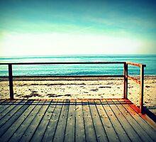 Sunny beach in a dream by mkokonoglou