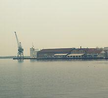 Thessaloniki's port by mkokonoglou