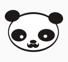 Mustache panda Kids Clothes