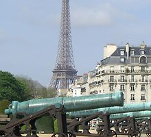 Cannon fire, Paris by Martina Nicolls
