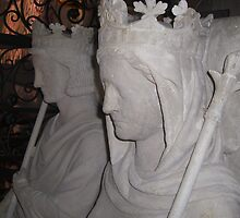 Two faced, Saint Denis, Paris by Martina Nicolls