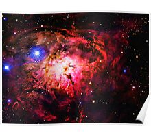 Space -Lagoon Nebula 2 art Poster