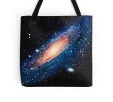 Space m31 spyral galaxy art Tote Bag