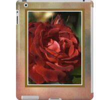 Elegant Rose iPad Case/Skin