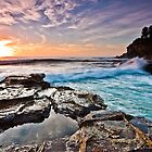 Untitled - Avalon Beach by Andrew Kerr