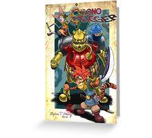 Chrono Tigger Greeting Card