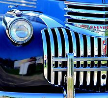 64 Chevy Grill by Maria P Urso