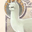 The Noble Alpacacorn by shakusaurus