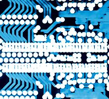 Abstract circuit board by homydesign