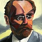 Emile Zola by Adrian Covert