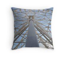 Ferris Symmetry Throw Pillow