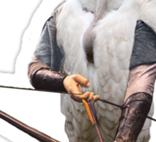 Griffon vulture Legolas Sticker