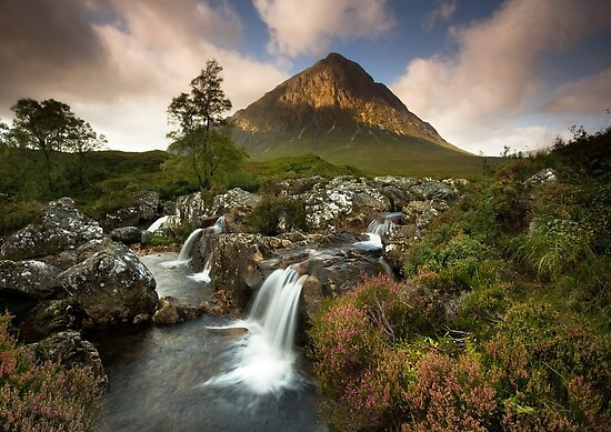 Scotland: Summer on Buachaille Etive Mor by Angie Latham