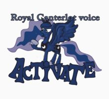 Luna - Canterlot voice activated by Fundz64