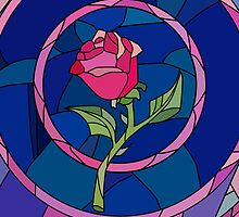 Glass Rose by ohmyglob