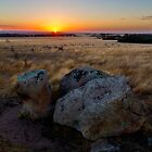 Dog Rocks At Sunset by Stephen Ruane