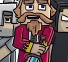 Fallen Kingdom Minecraft Sticker