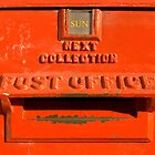 Royal Mail Post Box by Kawka