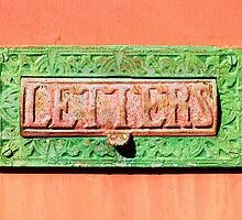 Old Letter Box by Kawka