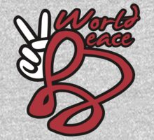 World Peace - Shirt & Stickers by lerogber