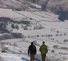 Peak District Walkers by wiggyofipswich
