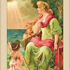 Vintage Angel Card-Hope Angel by Yesteryears