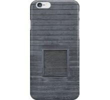 Horizontal blank plank wall iPhone Case/Skin