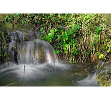Tumbling Water, Monk's Dale Photographic Print